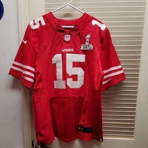 NFL on field Jersey 49ers